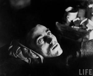 Soldat américain capturé et emprisonné par les allemands à Limburg (Allemagne), libéré en 1945.