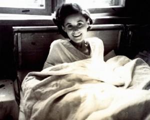 Femme libérée en 1945.